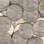 collection of Australia 1966 round 50c silver coin 80% silver