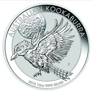 Australian Kookaburra Silver 10oz 9999 Bullion coin by Imperial Bullion 13 2018
