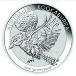 Australian Kookaburra Silver 1oz 9999 Bullion coin reverse by Imperial Bullion 13 2018