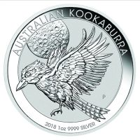 Australian Kookaburra Silver 1oz 9999 Bullion coin reverse by Imperial Bullion 13 2018