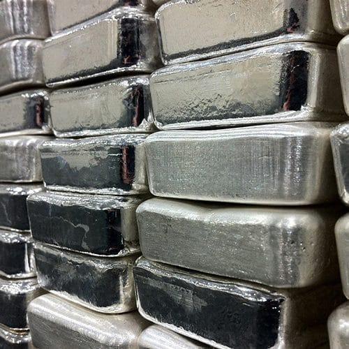 Low premium silver bullion bars
